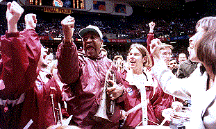 Bill Cosby MSU pep band