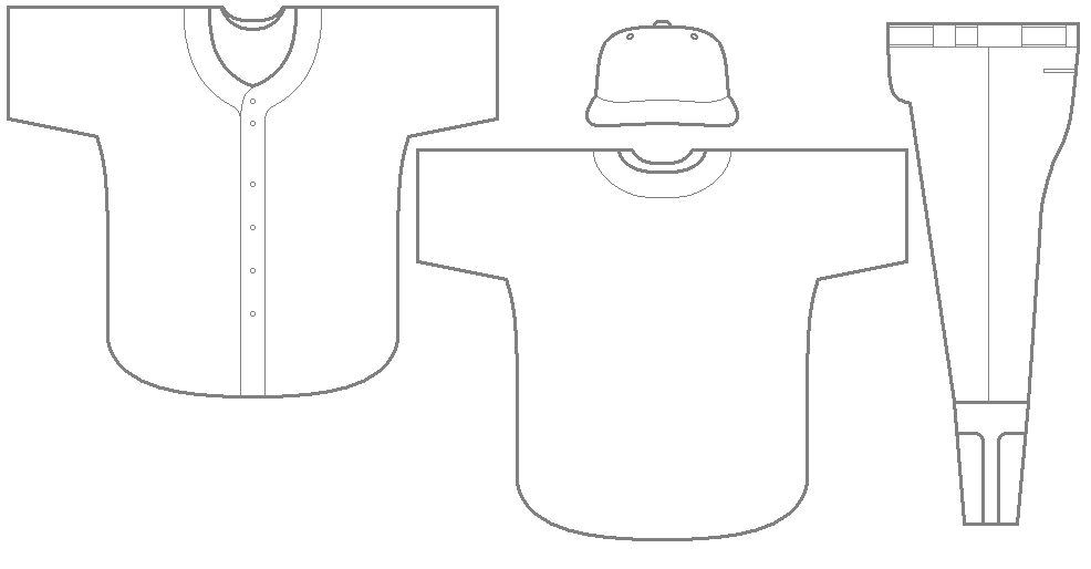 The wild card expansion franchise thought experiment az for Softball uniform design templates
