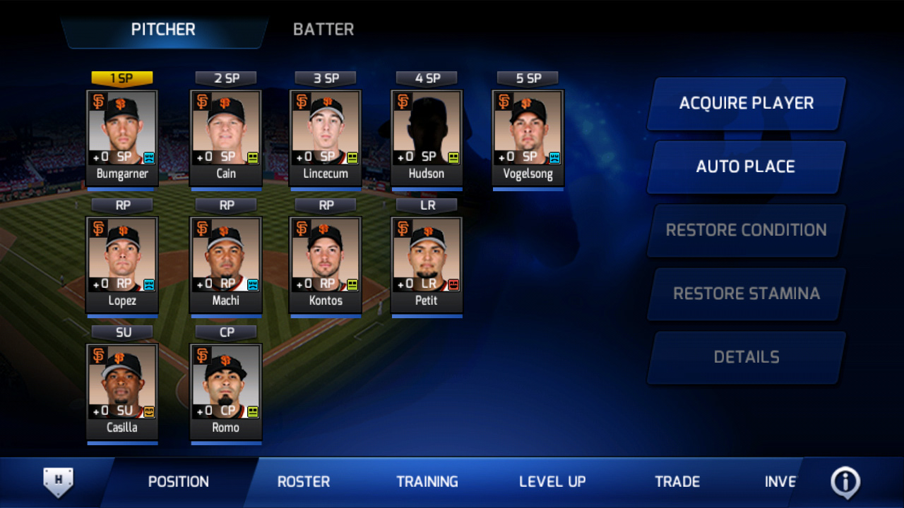 Mlb perfect inning can a baseball sim work on a mobile device