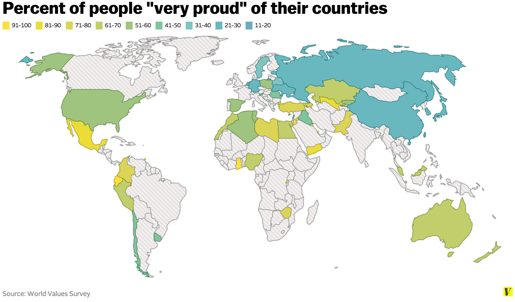 where people really love their countries u2014 and where they kinda