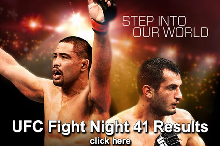 UFC Fight Night 41 Results
