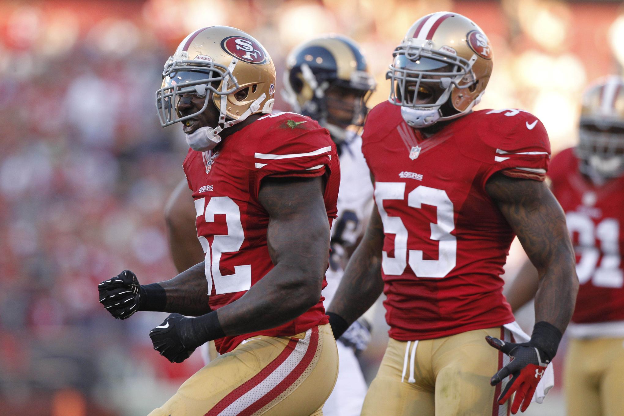 Jerseys NFL Wholesale - NFL's best linebacker corps: Bills, 49ers lead the way - SBNation.com