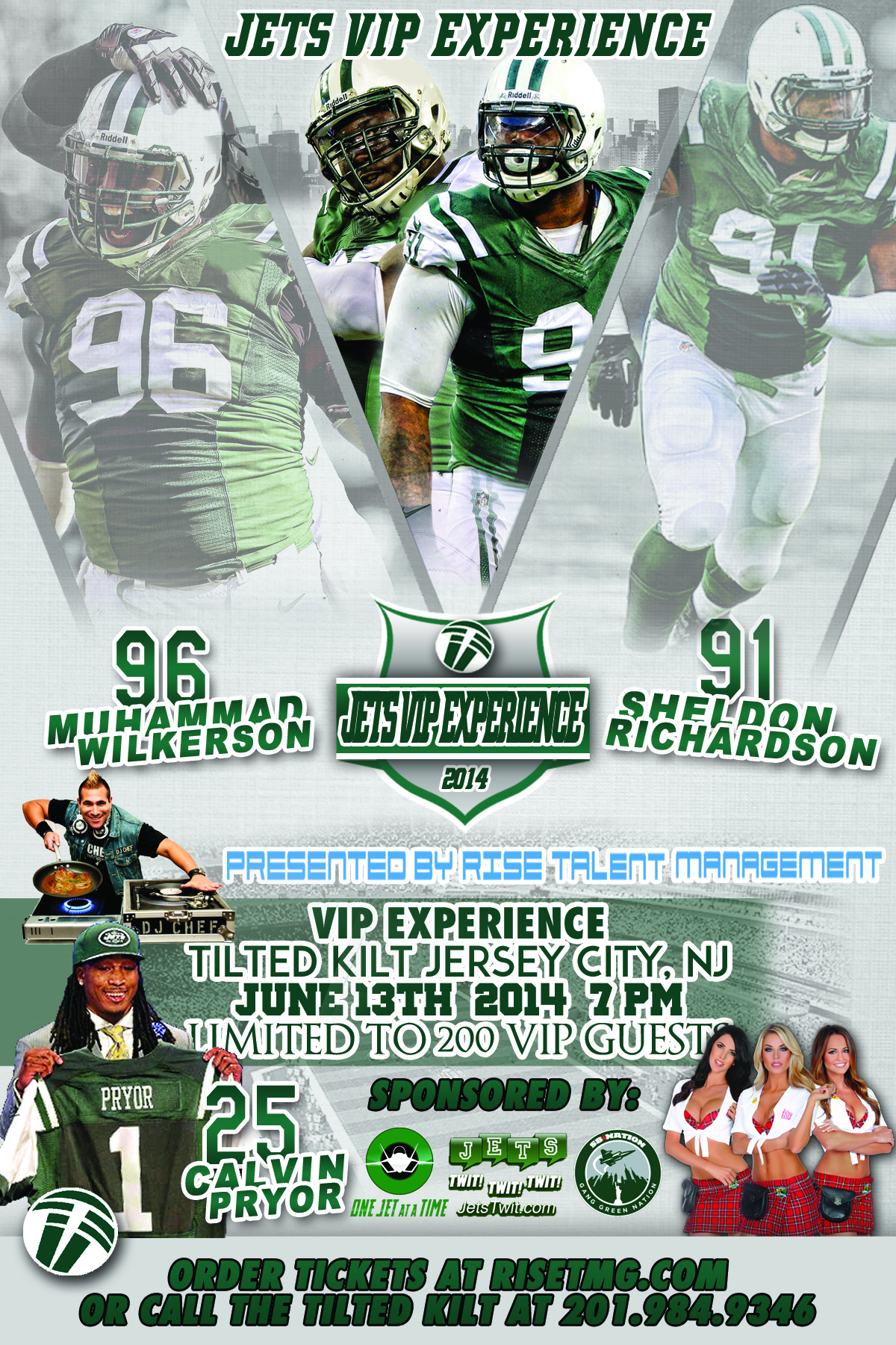 Interested in Meeting Muhammad Wilkerson Sheldon Richardson and