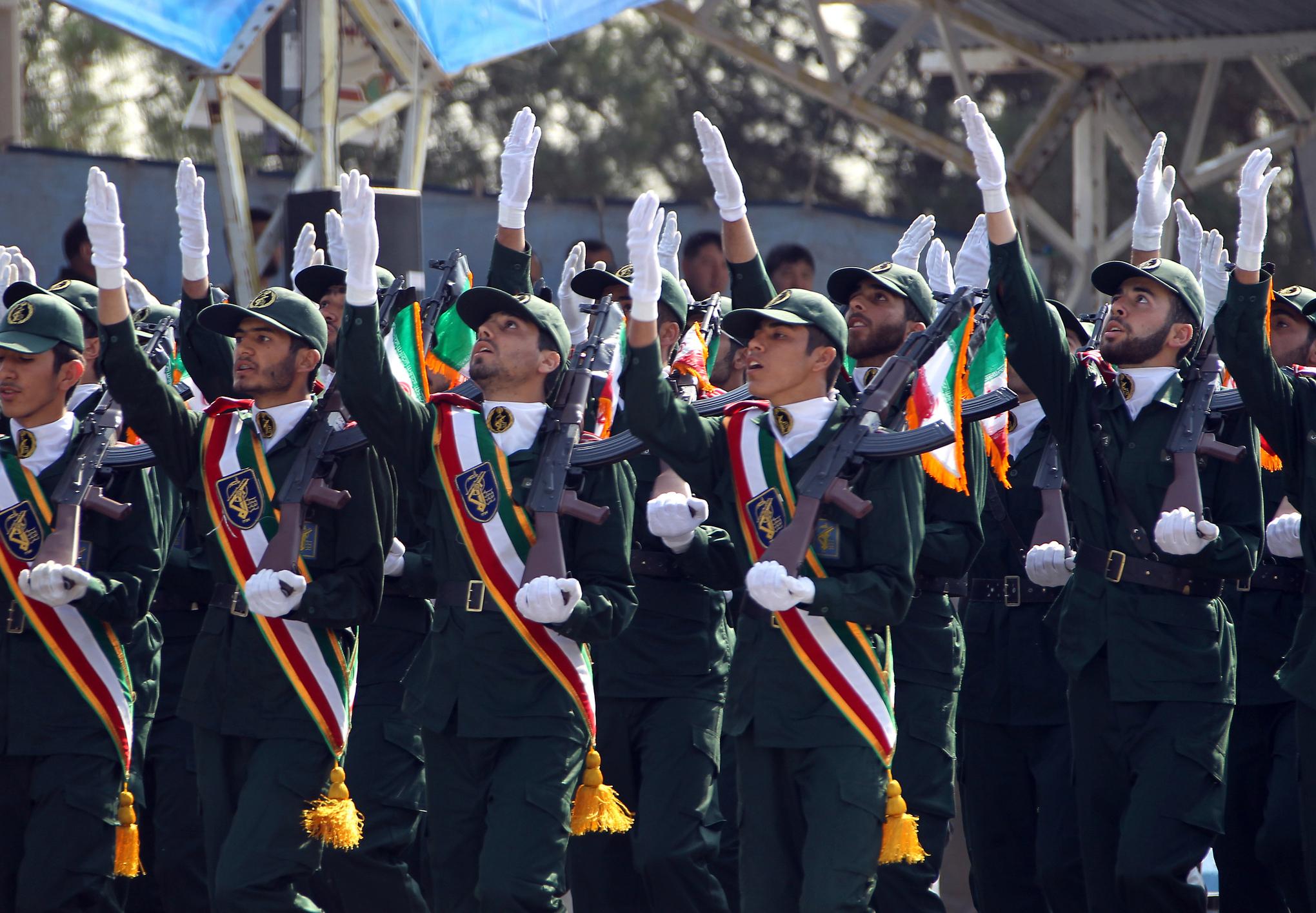 iranian revolutionary guard ATTA KENARE/AFP/Getty Images