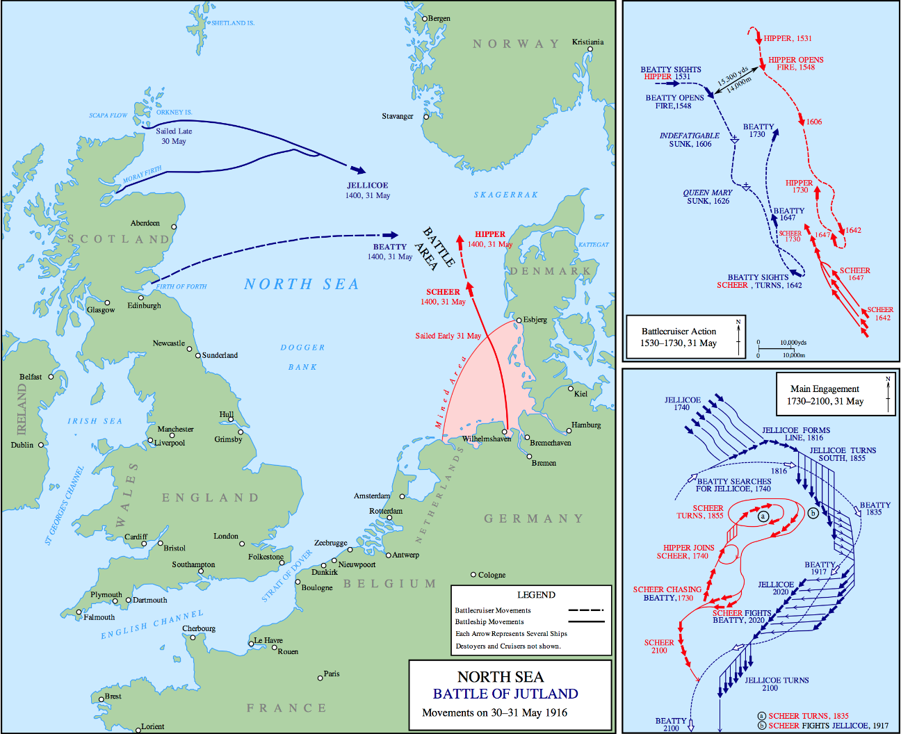 The Battle of Jutland: the biggest naval fight of World War I