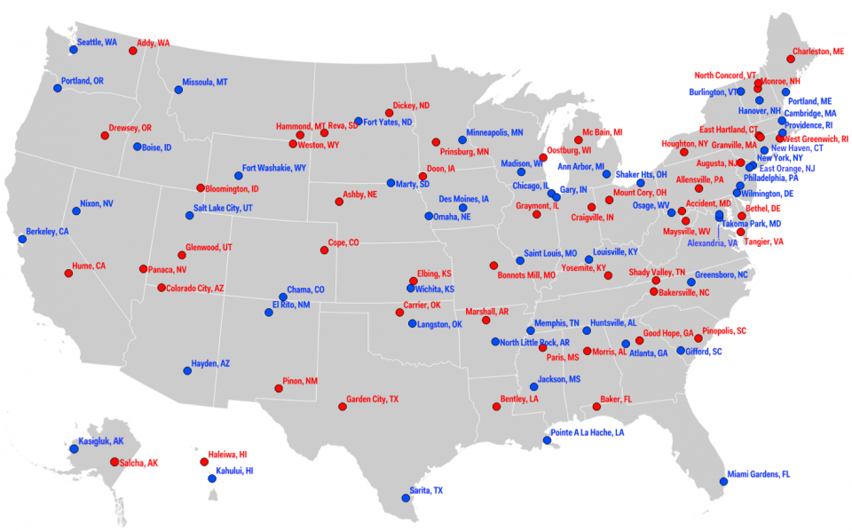 CSI Without Dead Bodies Political Liberalism And The - Map of hate groups in us