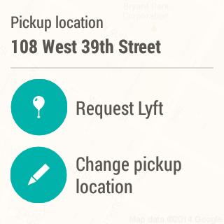 Lyft android wear app