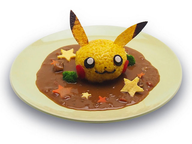 Japan 39 s pikachu cafe lets you eat pok mon in burger and for Pokemon cuisine
