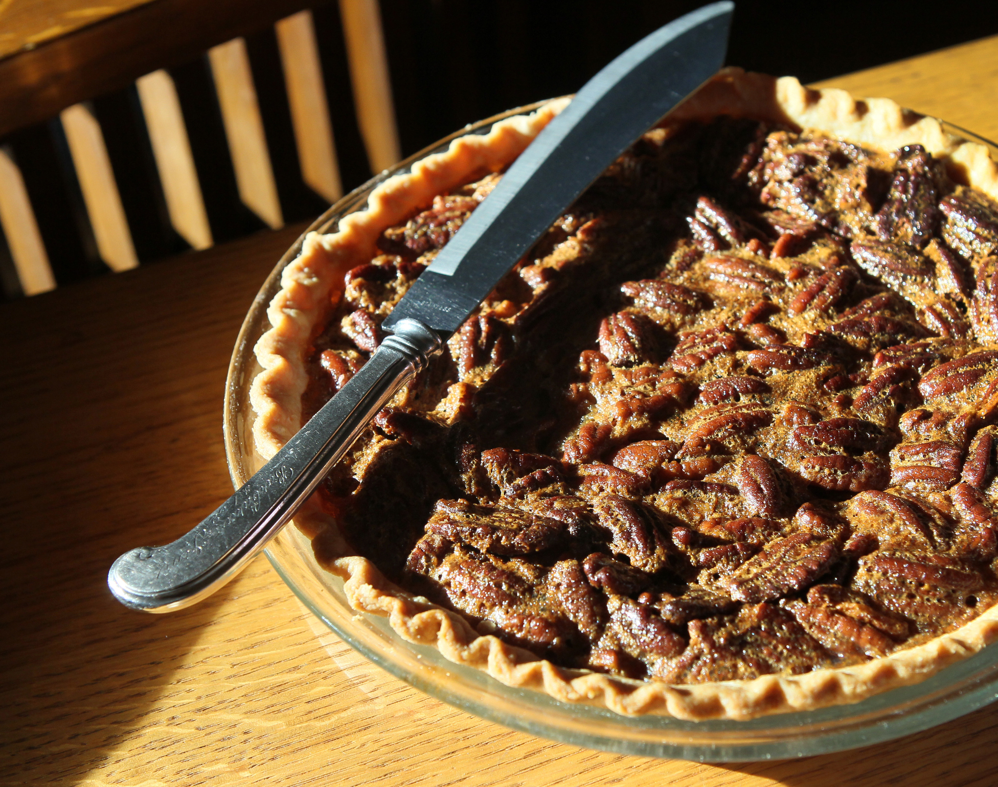 pecan pie. A true American treat. Photo by Boston Globe/Getty