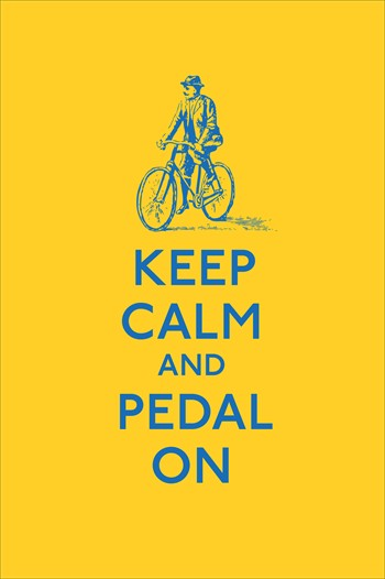 Photo: A collection of cycling related quotes.