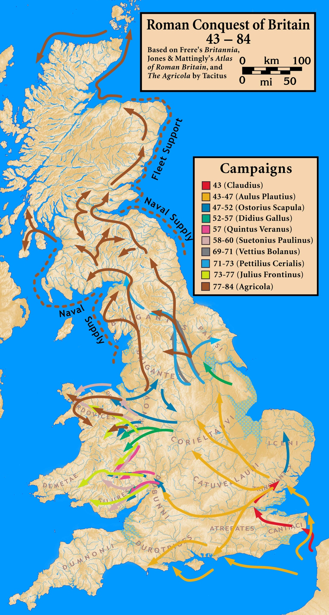 the invasion of britain by the roman army under emperor claudius The roman invasion of britain was a determined military and political effort to  project  the romans, under the emperor claudius, were ready to conquer  britain.