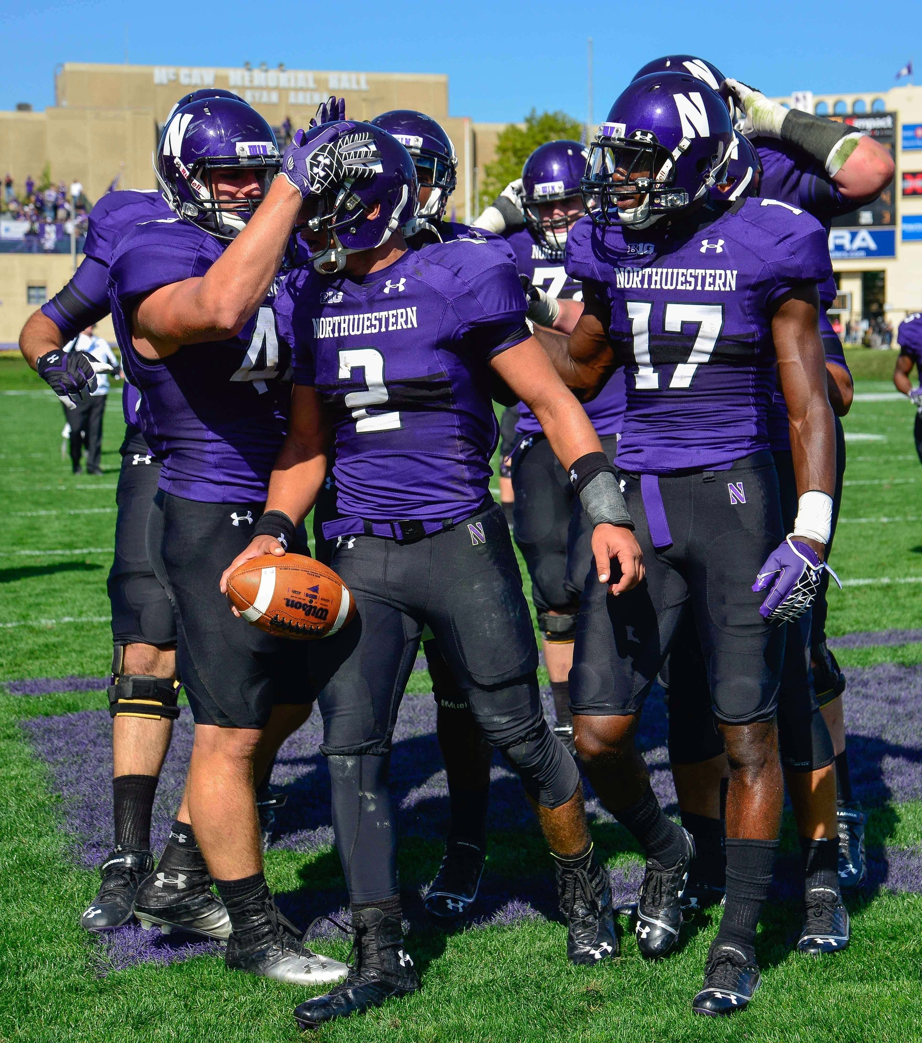 quality design d37a4 45b6b Evaluating Northwestern's 2014 uniform options - Inside NU