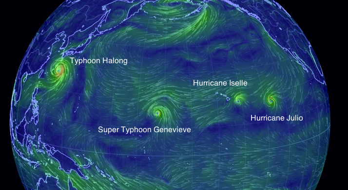 Four_tropical_cyclones_pacific