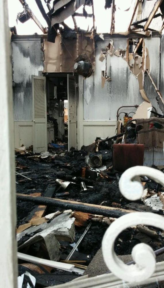 Fire-interior