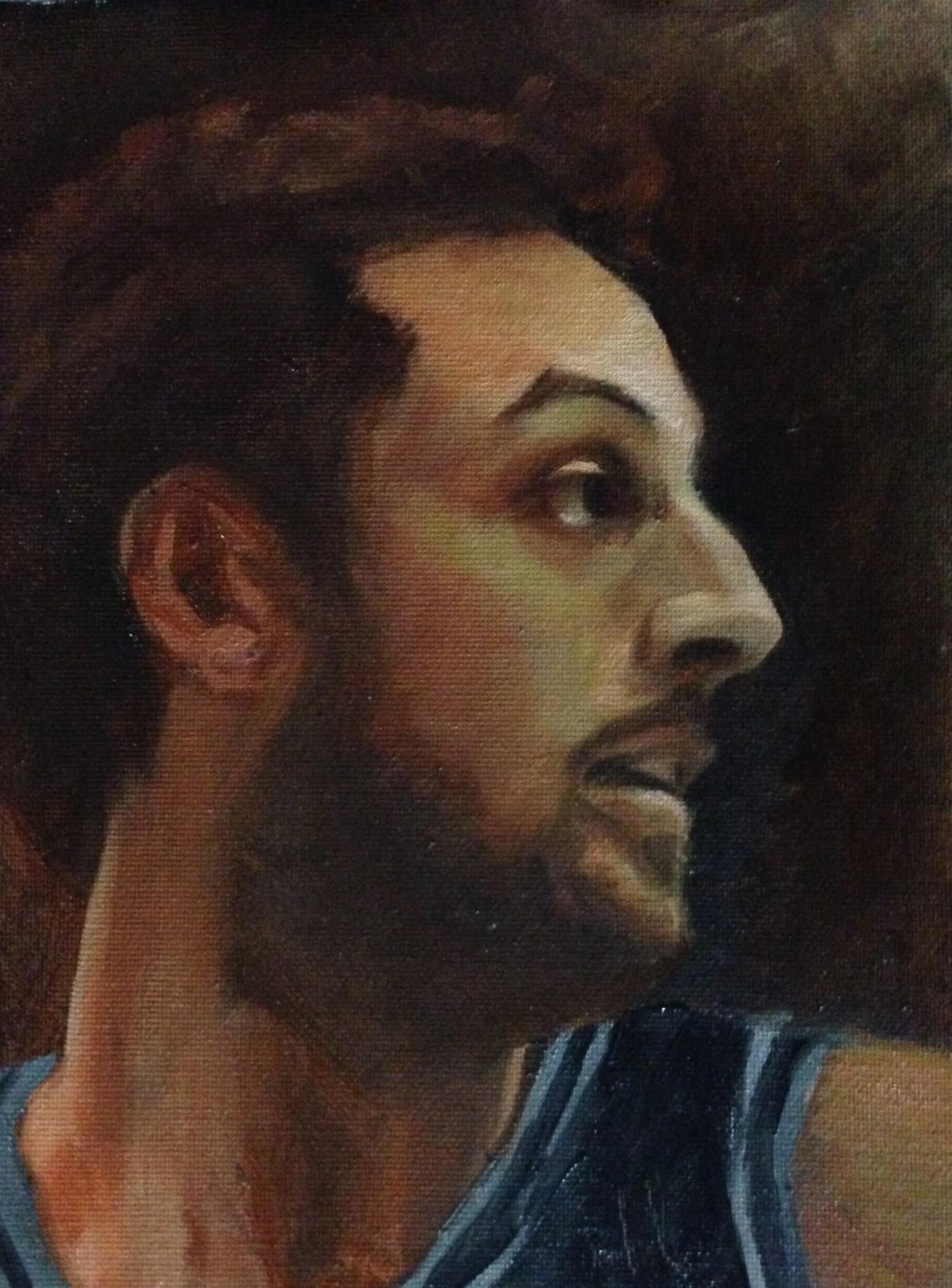 马可·贝利内利石油肖像