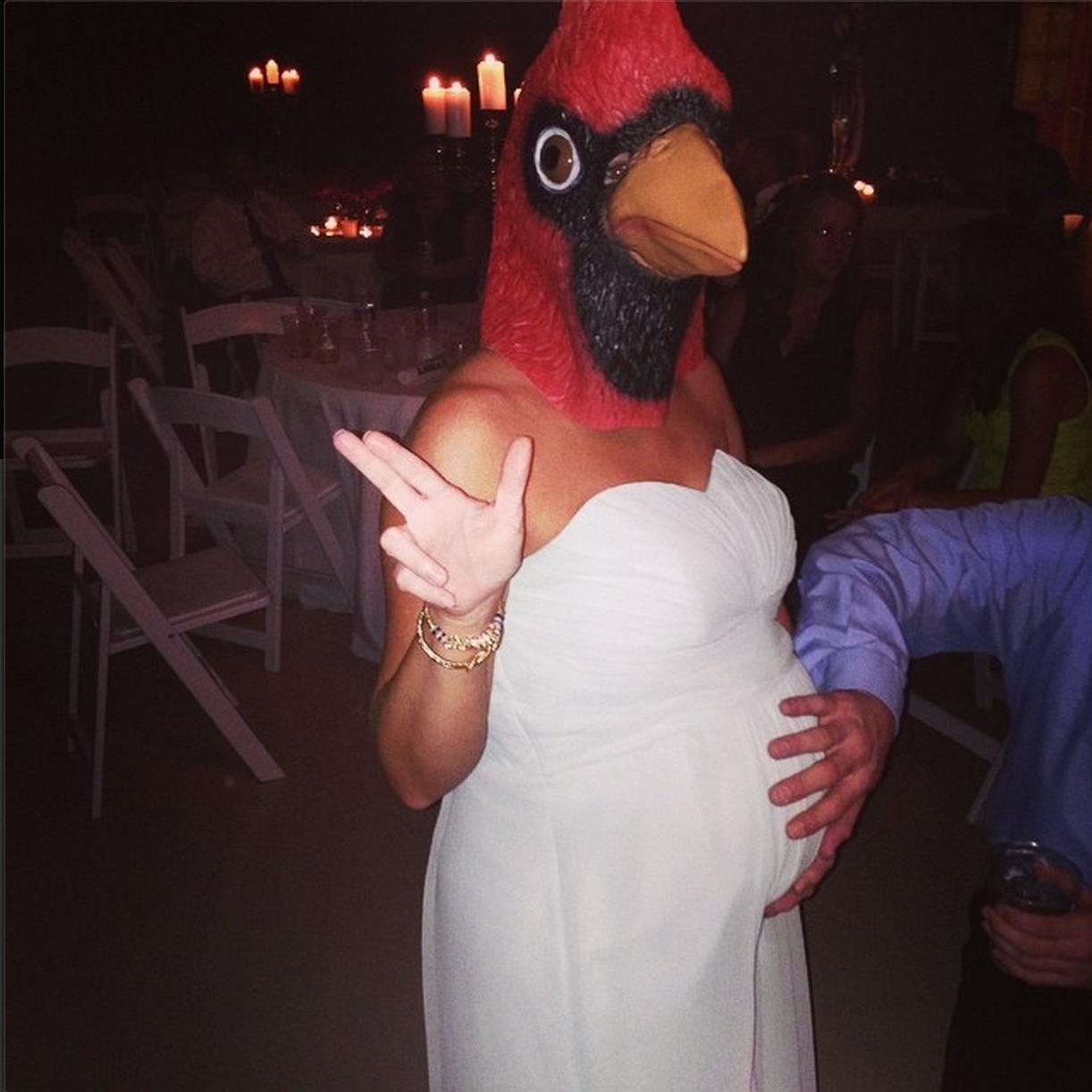 Evening chronicle wedding