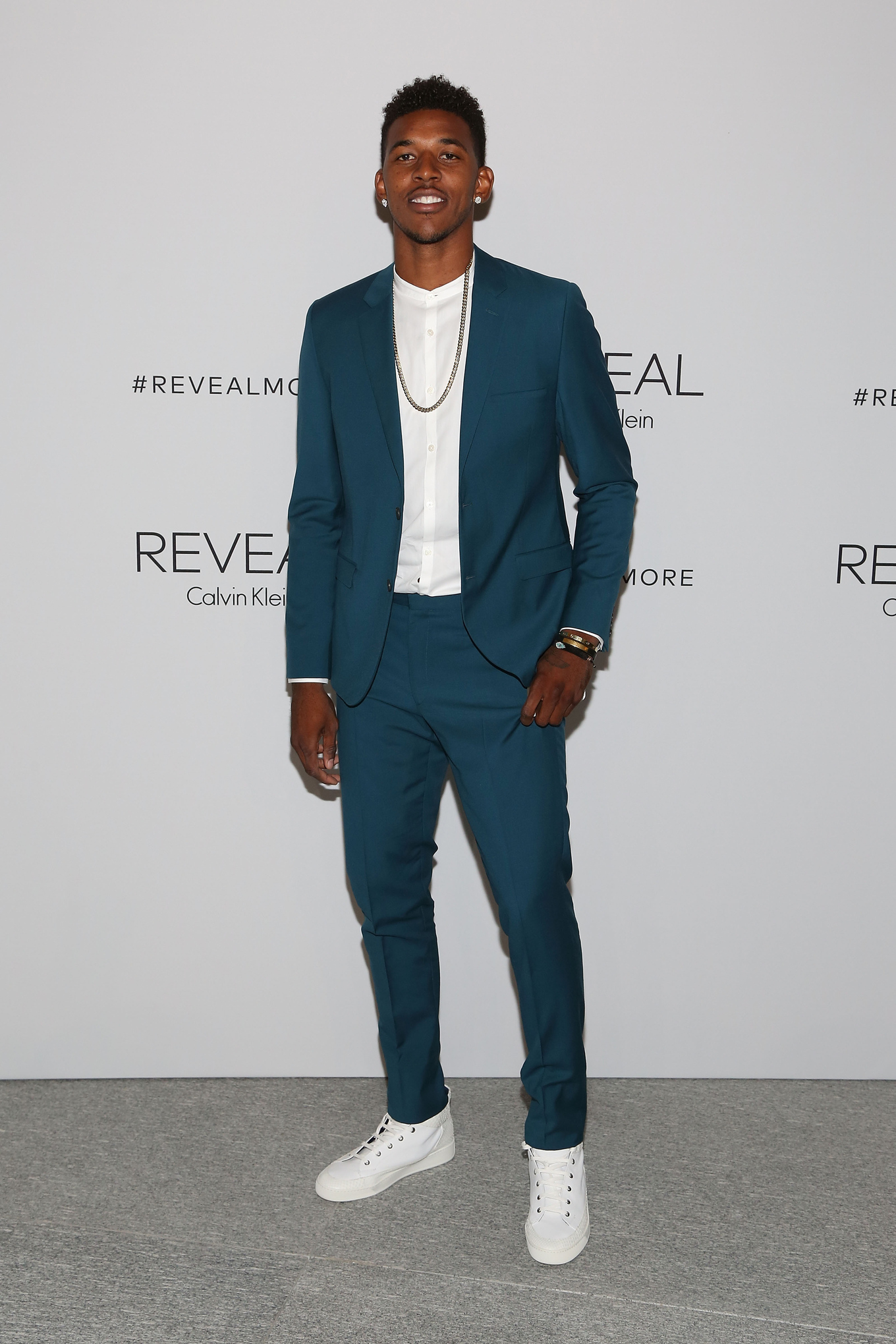 Nick Young Named 39 Best Dressed 39 At New York Fashion Week By Gq Silver Screen And Roll