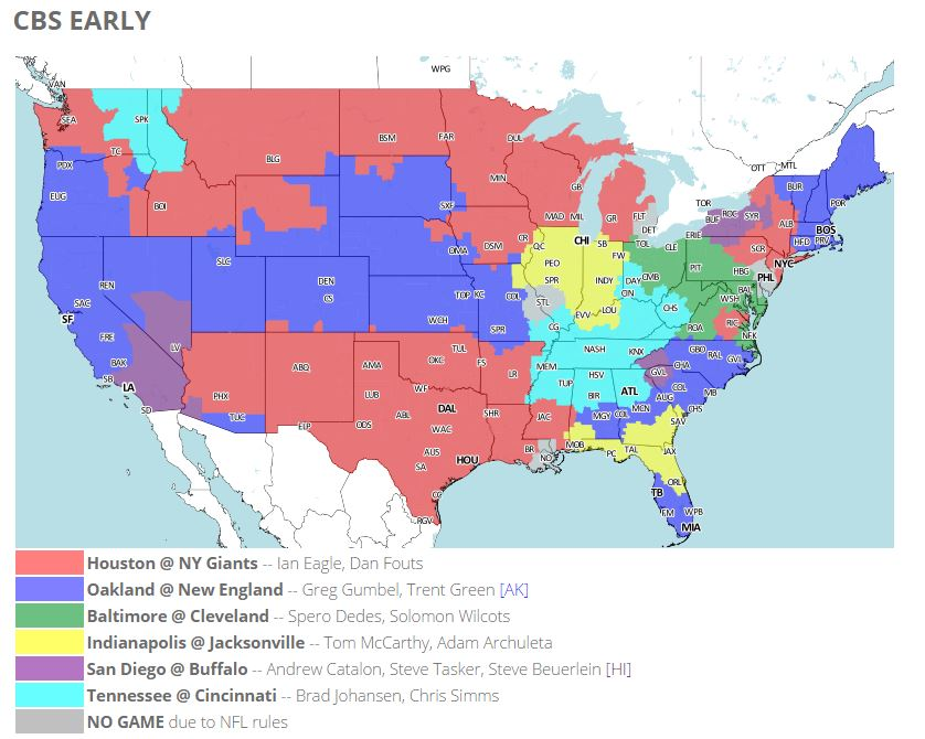 Nfl Sunday Early Games Tv Schedule Online Stream Live