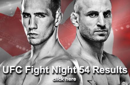 UFC Fight Night 54 Results