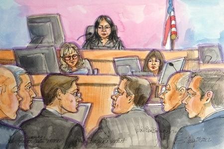 Apple Samsung verdict reading sketch