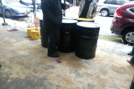 diesel drums