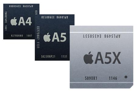 Apple A4 A5 A5X soc cpu processor stock 640