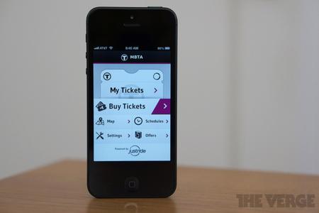 MBTA mTicket for iPhone