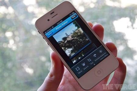 iPhone TwitPic app