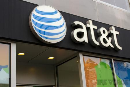 AT&T logo (STOCK)