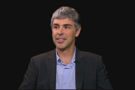 larry page charlie rose