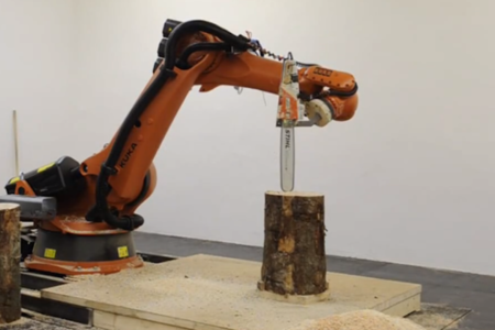 kkaarrlls chainsaw robot