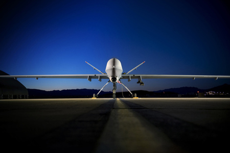 MQ-9 Reaper Drone at Creech Air Force Base (Credit: Lance Cheung / USAF)