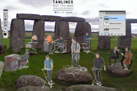 Tanlines interactive video