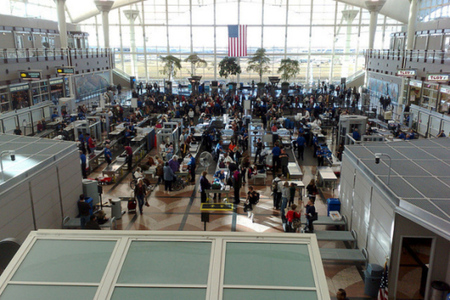 tsa checkpoint (flickr)
