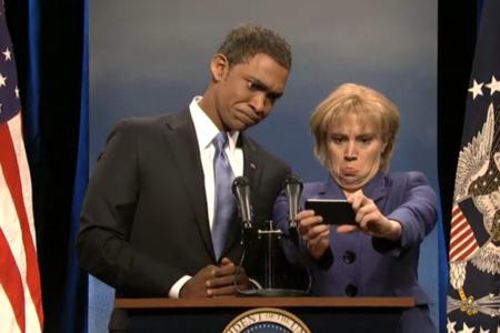 SNL Obama selfie