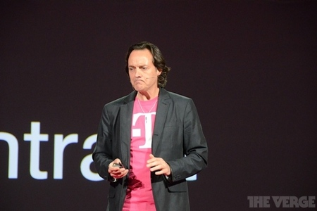 T-Mobile CEO John Legere - not bad intense face