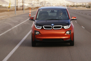 Driving the BMW i3