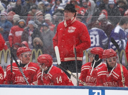 Red-wings-head-coach-mike-babcock-wore-an-amazing-fedora