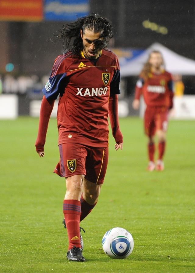 Fabian Espindola of Real Salt Lake