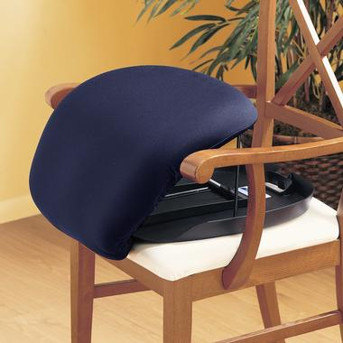 The UpEasy Lifting Cushion in use on a chair