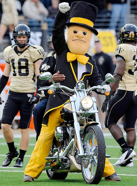 Getting to know the ACC Mascots - Card Chronicle