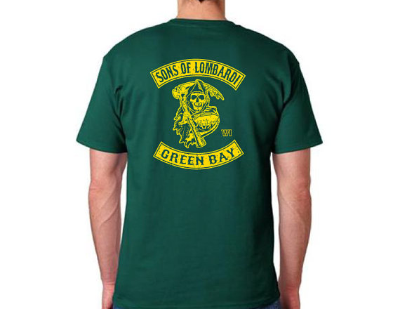 promo code 9c53c b5ff6 Unique and Strange Green Bay Packers Items for Sale on Etsy ...