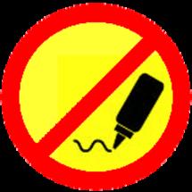 Nogluesign