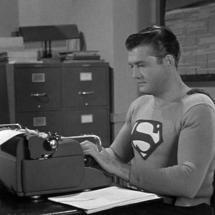 Supermantypewriter
