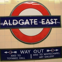 Aldgate-east-platform