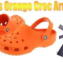 Orange_crocs