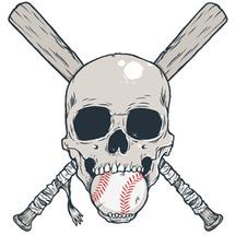 Skull-and-bats