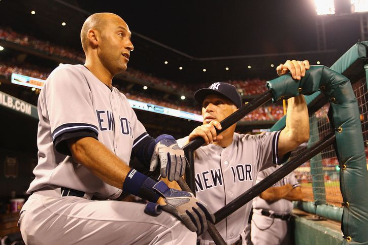 Derek Jeter and Joe Girardi
