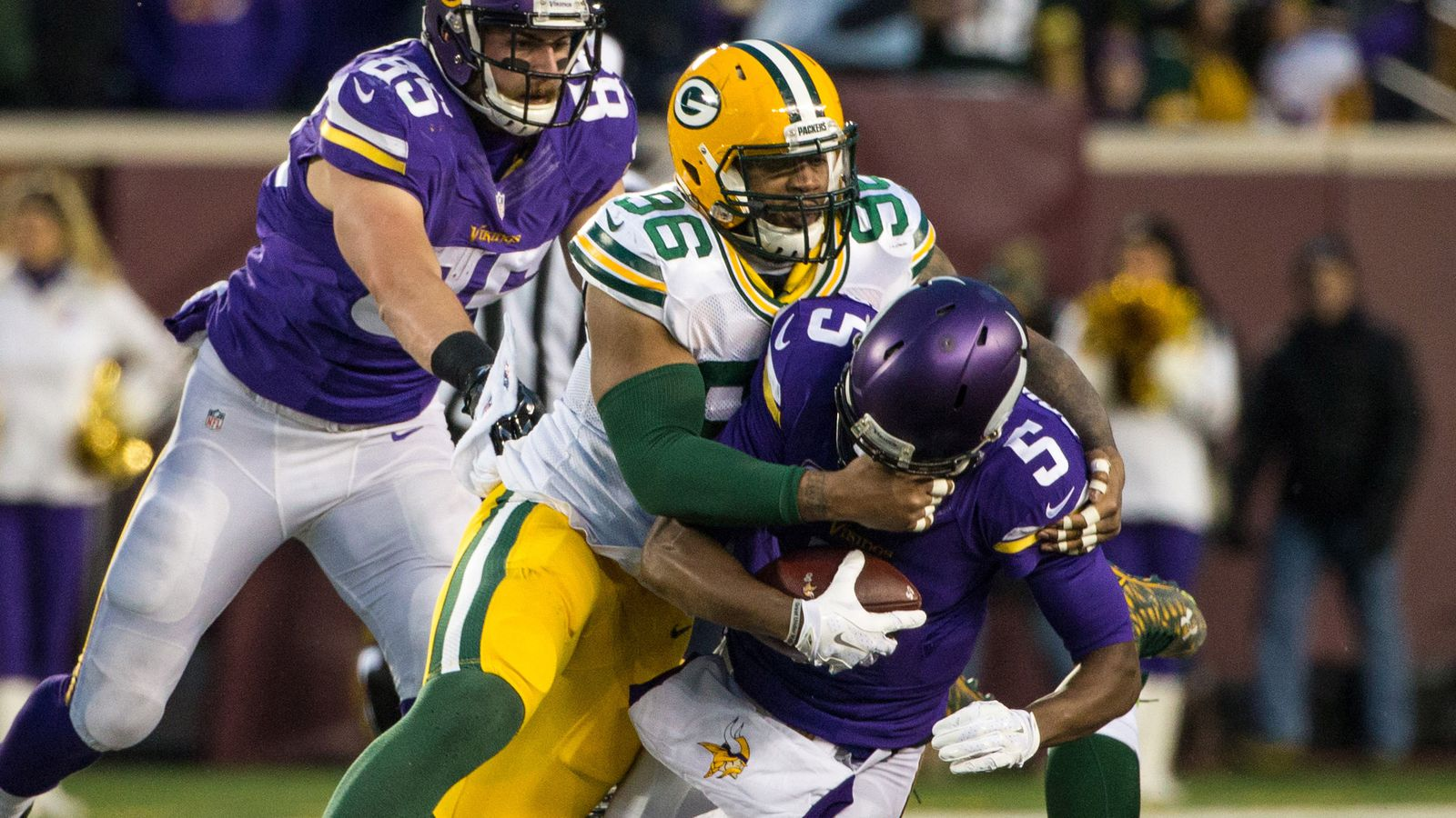 Game photos: packers at redskins