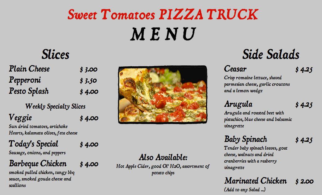 Blackjack pizza menu firestone